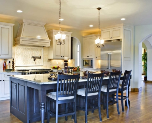 House dining and kitchen open concept