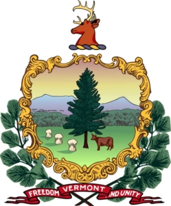 Vermont Freedom and unity badge
