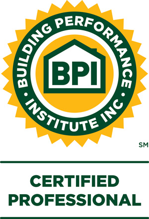 Building Performance Institute Certified Professional badge