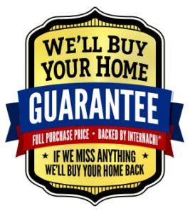 We'll Buy Your Home Back Guarantee Badge InterNachi