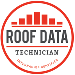 InterNACHI Certified Roof Data Technician badge