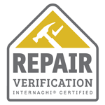 InterNACHI Certified Repair Verification badge