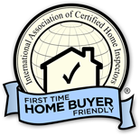 First Time Home Buyer Friendly Badge InterNACHI