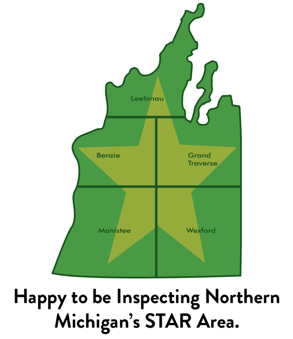 The Happy Property Inspector Northern Michigan STAR area