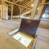 Inspecting Attic Space