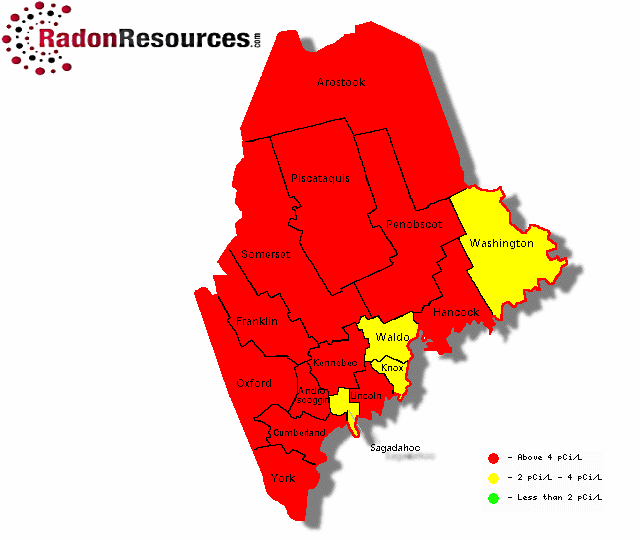 Radon Resources Maine