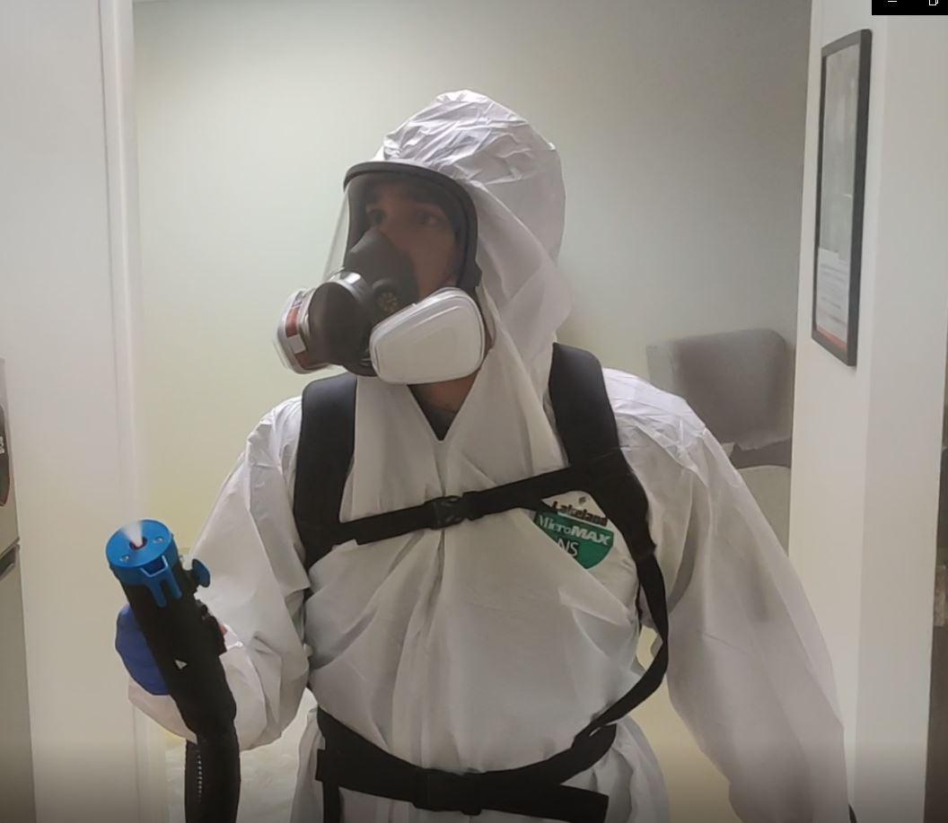 professional disinfectant fogging services