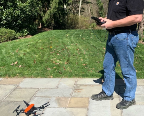 Clearview Inspect David using drone